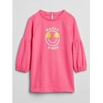 Toddler Graphic Sweatshirt Dress