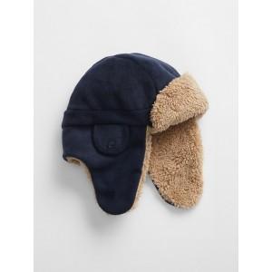 Kids Sherpa-Lined Trapper Hat