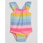 Baby Stripe Swim One-Piece