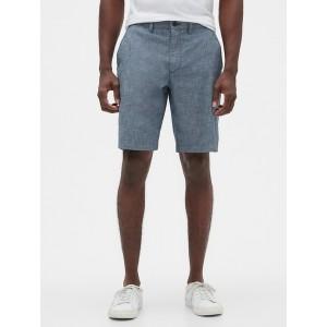 """10"""" Chambray Shorts"""