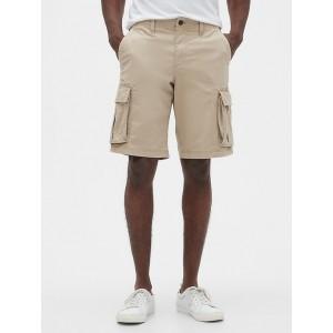 "11"" Twill Cargo Shorts with GapFlex"
