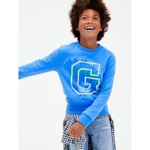 Kids Graphic Crewneck Sweatshirt