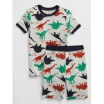Kids Print Short PJ Set