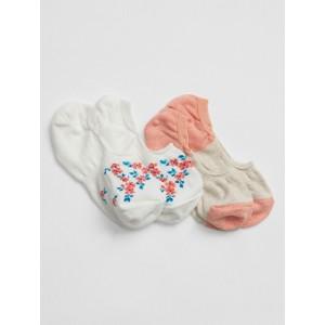 Basic No-Show Socks (2-Pack)