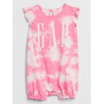 Baby Gap Logo Tie-Dye Shorty