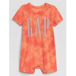 babyGap Logo Tie-Dye Shorty