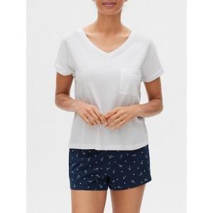 V-Neck Modal T-Shirt