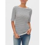 Favorite Stripe Boatneck T-Shirt