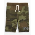 Kids Logo Shorts in French Terry