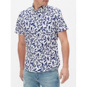 Short Sleeve Shirt in Slim Fit