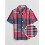 Toddler Madras Button-Down