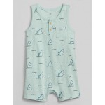 Baby Graphic Tank Shorty One-Piece