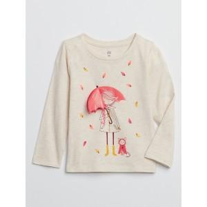 Toddler Long Sleeve Flippy T-Shirt