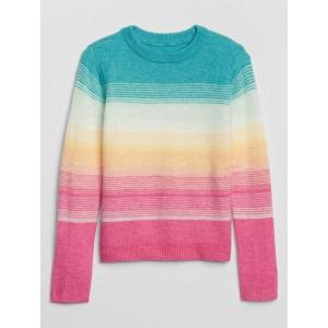 Kids Ombre Crewneck Sweater