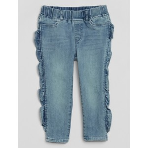 Toddler Ruffle Ankle Jeggings