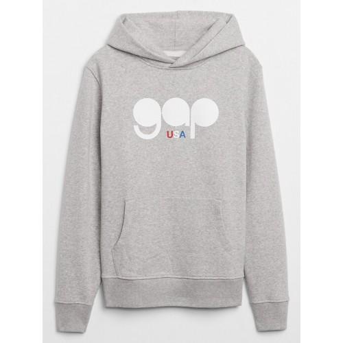 갭 Gap Logo Pullover Hoodie
