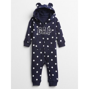 Bab Gap Logo Print One Piece