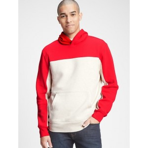 Colorblock Pullover Hoodie