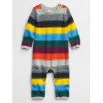 Baby Happy Stripe One-Piece