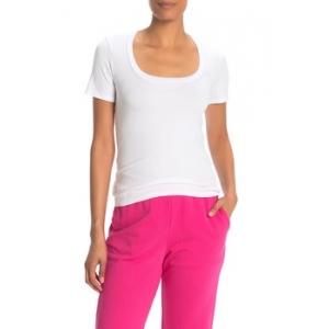 Square Neck Short Sleeve T-Shirt