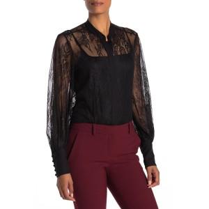 Boleyn Lace Long Sleeve Blouse