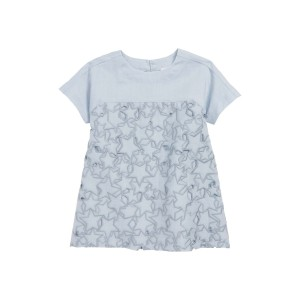 Star Cutout Dress (Toddler Girls, Little Girls & Big Girls)