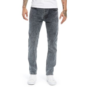 Acid Wash Stretch Skinny Jeans