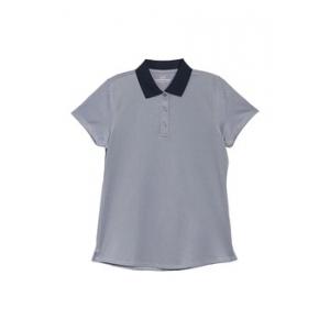 Colorblock Pique Knit Polo Shirt