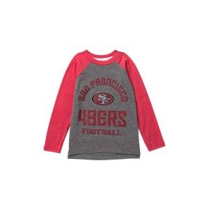 SF Rams Classic Gridiron Long Sleeve Raglan Tee (Toddler & Little Boys)