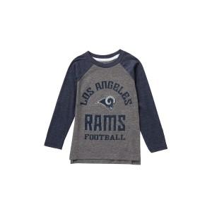 LA Rams Classic Gridiron Long Sleeve Raglan Tee (Toddler & Little Boys)