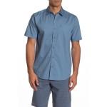 Evvertt Short Sleeve Woven Regular Fit Shirt