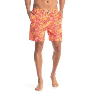 Paisley Patterned Swim Shorts