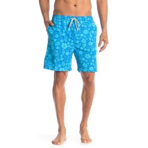 Tropical Patterned Swim Shorts