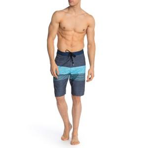 Momentum Striped Board Shorts
