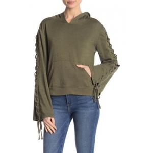 Empress Lace Up Hoodie