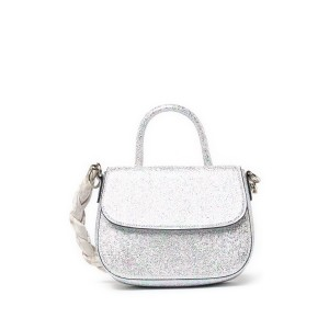 Christina Faux Leather Small Top Handle Satchel