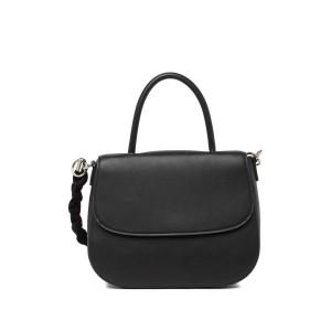 Christina Faux Leather Top Handle Satchel