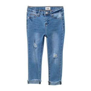 Christa Distressed Skinny Jeans (Toddler Girls)