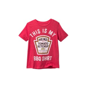 Just Here For The BBQ T-Shirt (Toddler & Little Boys)