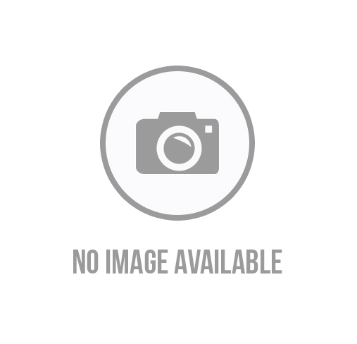 Relaxed Crew Neck Striped Linen Blend Tee