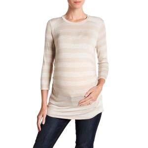 Sienna Long Sleeve Striped Tee (Maternity)