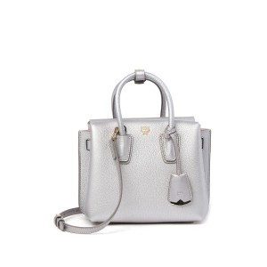 Fontanellas Park Ave Milla Small Leather Satchel