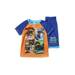 LEGO Ninjago Ninja Never Quit Short Pajama Set (Little Boys & Big Boys)