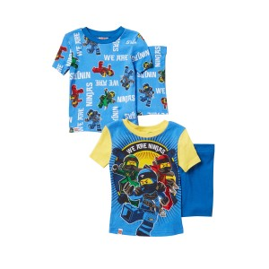 LEGO Ninjago We Are Ninjas Short Cotton PJs - Set of 2 (Little Boys & Big Boys)