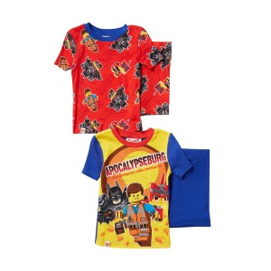 LEGO Movie 2 Apocalypseburg Short Cotton PJs - Set of 2 (Little Boys & Big Boys)