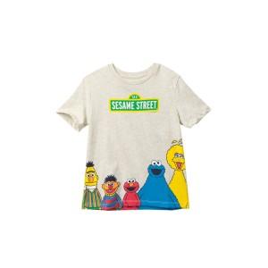 Sesame Street Front/Back Gang T-Shirt (Toddler & Little Boys)