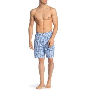 Swami Patterned Swim Shorts
