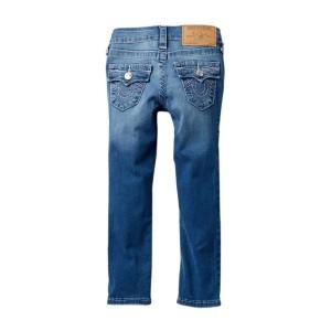 Single Needle Denim Jeans (Toddler & Little Girls)