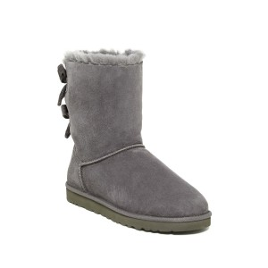 Bailey Twinface Genuine Shearling & UGGpure(TM) Bow Corduroy Boot