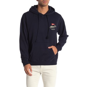 Nautical Flag Brand Logo Pullover Hoodie